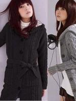 ZANZEA Womens Long Sleeve Hoodie Coat Cardigan Tops Trench SweaterKnitwear
