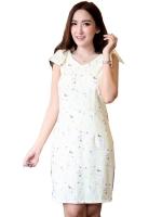 MaxxiTrendy DS0022 เสื้อผ้าแฟชั่น เสื้อผ้าเกาหลีเสื้อผ้าแฟชั่นเกาหลี เดรสเกาหลี เดรสทำงาน แซก เดรสสไตล์ผู้หญิงอินเทรนด์ แฟชั่นออนไลน์ เดรสน่ารักเดรสสั้น เดรส Women is Dresses Online
