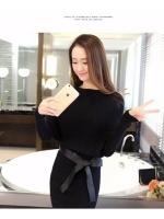 Black Asia Dresses Online ไหมพรมสีดำ