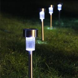 P01 ไฟโซล่าเซลล์ปักสนาม 1 LED