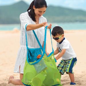 Sand away Beach Bag 45 cm Green เขียวขอบฟ้า
