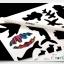 Scratch Cards- Underwater world ชุดศิลปะขูดพร้อม stencil thumbnail 3