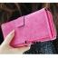 กระเป๋าสตางค์ YADAS พร้อมส่ง สีชมพู แต่งคาดกระดุมแป๊กเก๋ๆ ทรงเรียบหรู ใบยาว DESIGN สุดเก๋ ไฮโซมากๆ thumbnail 3