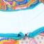 ชุดว่ายน้ำวันพีช สีชมพูโอรส ดีเทลลวดลายเก๋ๆ สายคล้องคอ แต่งสายไข้วด้านหลัง กระโปรงบานน่ารัก thumbnail 14