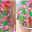 ชุดว่ายน้ำวันพีช สีชมพู ลายดอกไม้สีหวานมากๆค่ะ ผูกสายคล้องคอ ดีเทลย่นๆช่วงเอว แต่งกระโปรงระบายๆ เป็นชั้นๆ thumbnail 8