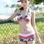 ชุดว่ายน้ำทูพีช เซ็ตคู่ชุดชั้นในเข้ากับชุด ลายธงชาติอังกฤษ เก๋ๆสุดๆ thumbnail 2