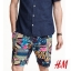 H&M PATTERN SWEAT SHORTS thumbnail 1