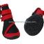 รองเท้าสุนัขโต สีแดง-ดำ ลายรัดคอเท้า (4 ข้าง) thumbnail 2