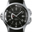 Hamilton Men's H77615333 Khaki Navy GMT Black Dial Watch thumbnail 1