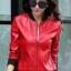 เสื้อแจ็คเก็ต เสื้อหนังแฟชั่น พร้อมส่ง สีแดง หนัง PU คุณภาพงานพรีเมี่ยม งานเหมือนแบบ 100 % ค่ะ แขนยาว จั้มช่วงเอวและแขนเสื้อ ซิบหน้า มีซับใน สุดเท่ห์สุดๆ หนังนิ่ม ใส่สบาย thumbnail 1