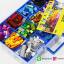 กล่องเก็บเลโก้ สามารถใส่คู่มือพร้อมกันได้ เก็บชิ้นส่วนเลโก้ให้เป็นระเบียบ LOGO BOX สีฟ้า thumbnail 4