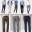 GAP Tailored Khakis Pants Slim Fit & Straight Fit thumbnail 1