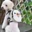 กระเป๋าเป้สุนัข กระเป๋าเป้แมว ลายหมูขาว thumbnail 3