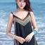 MAXI DRESS ชุดเดรสยาว พร้อมส่ง สีดำ สายเดี่ยว แต่งลวดลายกราฟิกเก๋ กระโปรงยาวบานพริ้วๆ ผ้าชีฟอง เนื้อดี ใส่สบาย มีซับใน สามารถปรับสายได้ thumbnail 5