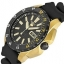 Seiko SRP364K1 5 Sports Black Dial Gold Plated Automatic Watch thumbnail 2