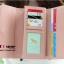 กระเป๋าสตางค์แฟชั่น YADAS พร้อมส่ง สีชมพู ด้านในสีชมพูอ่อน ใบยาว DESIGN สุดเก๋ ลายตาราง ปิดเปิดด้วยกระดุมแป๊กเก๋ๆ สวยหรู thumbnail 2