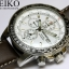 Seiko Solar Alarm Flightmaster Watch SSC013P1 thumbnail 4