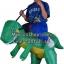 Preorder ชุดปาร์ตี้ไดโนเสาร์เป่าลม Inflatable Dinosaur Costume thumbnail 10