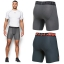 """UNDER ARMOUR HeatGear II Armour Mid Compression 6"""" Inseam thumbnail 8"""