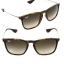 RAY BAN Sunglasses RB4187F 856/13 Havana Rubber size 54mm. thumbnail 2