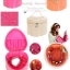 กระเป๋าใส่เครื่องสำอาง YM Korean Makeup Large Bag - สีชมพู thumbnail 2