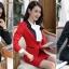 สื้อสูทแฟชั่น พร้อมส่ง เสื้อสูท สีดำ แต่งคอปกด้วยผ้ามันเงาสีครีม ผ้าคอตตอน 100 % เนื้อดี คุณภาพงานพรีเมี่ยม thumbnail 5