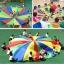 Rainbow Parachute - 5M Diameter เกมพาราชูท 5 เมตร thumbnail 2