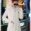 เสื้อกันหนาว พร้อมส่ง สีขาว ช่วงตัวเสื้อบุด้วยผ้าขนสัตว์ฟูๆ แบบซิบรูด มีฮูทสุดเท่ห์ งานเหมือนแบบแน่นอนค่ะ แขนยาวช่วงแขนเป็นผ้าไหมพรม ใส่แล้วอุ่นแน่นอนค่ะ thumbnail 4
