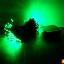 ES06 ไฟประดับโซล่าเซลล์ 100LED 12เมตร สีเขียว thumbnail 3