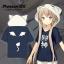Preorder เสื้อฮู๊ดแขนสั้น Meow Arisaka thumbnail 2