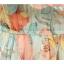 MAXI DRESS ชุดเดรสยาว พร้อมส่ง ผ้าชีฟอง ลายดอกไม้ โทนเขียว สวยมาก thumbnail 6