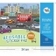 Joan Miro Reusable sticker pad - Urban Transport thumbnail 4
