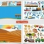 Joan Miro Reusable sticker pad - Urban Transport thumbnail 2