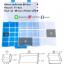 กล่องเก็บเลโก้ สามารถใส่คู่มือพร้อมกันได้ เก็บชิ้นส่วนเลโก้ให้เป็นระเบียบ LOGO BOX สีฟ้า thumbnail 8