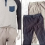 Rustic Blue Canvas Cargo Jogger Pants thumbnail 2