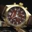 FOSSIL Men's Quartz Watch Vintage Bronze DE5002 thumbnail 2