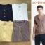 Abercrombie & Fitch Garment Dye Henley Short Sleeve T-Shirt thumbnail 2