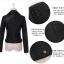 เสื้อแจ็คเก็ต เสื้อหนังแฟชั่น พร้อมส่ง สีดำ หนัง PU คุณภาพงานพรีเมี่ยม งานเหมือนแบบ 100 % ค่ะ thumbnail 7