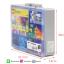 กล่องเก็บเลโก้ สามารถใส่คู่มือพร้อมกันได้ เก็บชิ้นส่วนเลโก้ให้เป็นระเบียบ LOGO BOX สีฟ้า thumbnail 3