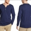 Esprit Men's Henley Button Front Long Sleeve T-Shirt thumbnail 6