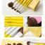 แปรงแต่งหน้า ชุดแปรงแต่งหน้า CerroQreen new cute girl series makeup brush Yellow thumbnail 3