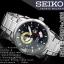 Seiko 5 Black Dial Stainless Steel Mens Watch SSA203K1 thumbnail 4