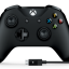 Xbox One S Controller + Cable for Windows - Black (Gen 3) (Wireless & Bluetooth) (Warranty 3 Month) thumbnail 2