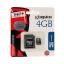 Micro SD Card 4GB Kingston (SDC4, Class 4) ของแท้ ประกันศูนย์ไทย thumbnail 1