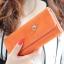 กระเป๋าสตางค์ YADAS พร้อมส่ง สีส้ม หนัง PU ทรงเรียบหรู ใบยาว DESIGN สุดเก๋ ไฮโซมากๆ thumbnail 1