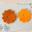 ดอกไม้หนังแท้ 35มิล (100ดอก) thumbnail 1