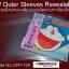 """12"""" LP Outer Sleeves Resealable / ซองใส่ปกแผ่นเสียงแบบแถบกาวชนิดมีฝาปิด thumbnail 1"""