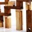 รางไม้ลูกแก้ว 45 ชิ้นของเล่นเสริมพัฒนาการ ของเล่นเสริมจินตนาการ ของเล่นปลายเปิด Wooden marble run thumbnail 11