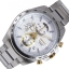 SEIKO Sport นาฬิกาข้อมือผู้ชาย Chronograph เรือนสแตนเลสหน้าปัดขาว รุ่น SSB285P1 thumbnail 2