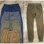 Pull & Bear Faded Colours Beach-Style Trousers thumbnail 4
